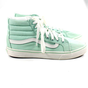 VANS Off The Wall Mint Green High Top Skate Shoes